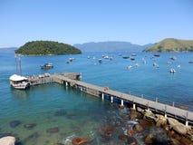 Bahía de Conceicao de Jacarei en Rio de Janeiro State Imagenes de archivo
