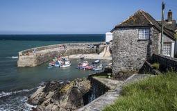 Bahía de Coverack en Cornualles Inglaterra fotografía de archivo libre de regalías