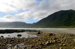 Bahía de Dongqin, en la costa del este de la isla de Lanyu/de orquídea Fotografía de archivo libre de regalías