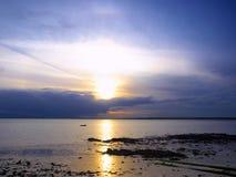 Bahía de Dublín Imagen de archivo libre de regalías