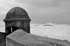 Bahía de Essaouira Foto de archivo