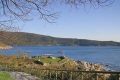 Bahía de Ferrol imagenes de archivo