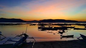 Bahía de Gerupuk Fotos de archivo