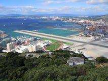 Bahía de Gibraltar foto de archivo
