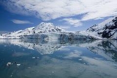 Bahía de glaciar, Alaska Foto de archivo