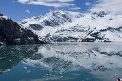 Bahía de glaciar, Alaska Foto de archivo libre de regalías