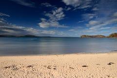 Bahía de Gruinard, Escocia del noroeste Imágenes de archivo libres de regalías