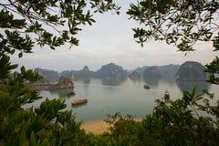 Bahía de Halong Imagen de archivo libre de regalías