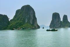 Bahía de Halong Fotografía de archivo libre de regalías
