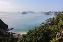 Bahía de Halong Fotos de archivo