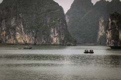 Bahía de Halong Foto de archivo libre de regalías