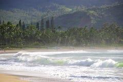 Bahía de Hanalei, Kauai Fotos de archivo