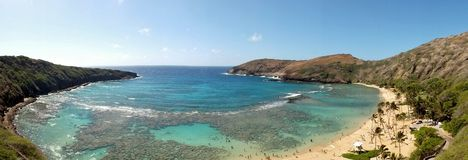 Bahía de Hanauma, Hawaii Foto de archivo