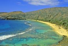 Bahía de Hanauma, Honolulu, Hawaii Fotos de archivo libres de regalías