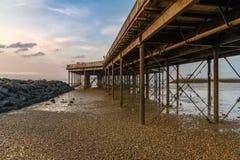 Bahía de Herne, Kent, Inglaterra, Reino Unido imágenes de archivo libres de regalías