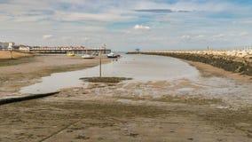 Bahía de Herne, Kent, Inglaterra, Reino Unido foto de archivo