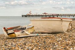 Bahía de Herne, Kent, Inglaterra, Reino Unido foto de archivo libre de regalías