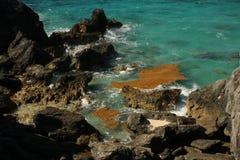 Bahía de herradura Bermudas Fotografía de archivo