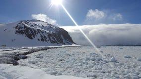 Bahía de hielo foto de archivo libre de regalías