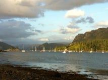 Bahía de Highland Village del escocés Imagen de archivo