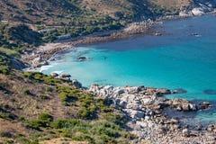 Bahía de Hout en el Western Cape de Suráfrica Imagen de archivo