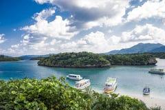 Bahía de Kabira foto de archivo