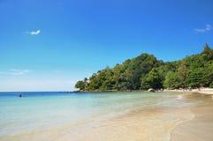 Bahía de Kamala en Tailandia Fotos de archivo libres de regalías