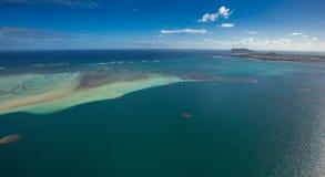 Bahía de Kaneohe, banco de arena, Oahu, Hawaii imagen de archivo libre de regalías