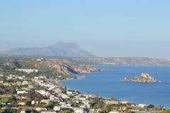 Bahía de Kefalos en la isla de Kos fotografía de archivo