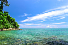 Bahía de Khao Lak, punzada Nga, Tailandia imagenes de archivo