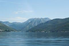 Bahía de Kotor Imagenes de archivo