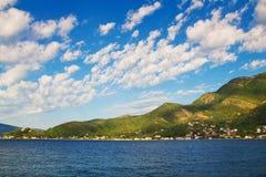 Bahía de Kotor, Montenegro foto de archivo libre de regalías