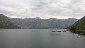 Bahía de Kotor, Montenegro Fotos de archivo libres de regalías
