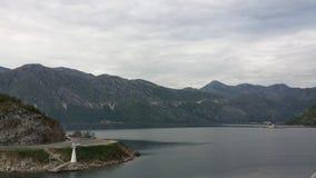 Bahía de Kotor, Montenegro Imágenes de archivo libres de regalías
