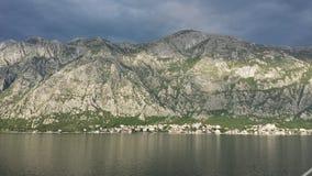 Bahía de Kotor, Montenegro Foto de archivo