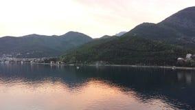 Bahía de Kotor, Montenegro Fotografía de archivo