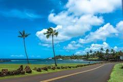 Bahía de Kukuiula en Maui, Hawaii foto de archivo libre de regalías