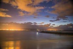 Bahía de la botánica en el amanecer Imagen de archivo libre de regalías
