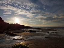 Bahía de la ensenada fotografía de archivo
