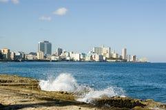 Bahía de La Habana Foto de archivo libre de regalías