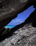 Bahía de la herradura de Bermudas Imagen de archivo libre de regalías
