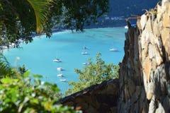 Bahía de la isla fotos de archivo libres de regalías