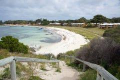 Bahía de la isla de Rottnest fotografía de archivo libre de regalías
