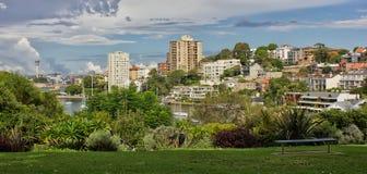 Bahía de la lavanda, Sydney fotografía de archivo libre de regalías