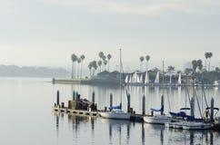 Bahía de la misión, San Diego, California Fotos de archivo libres de regalías