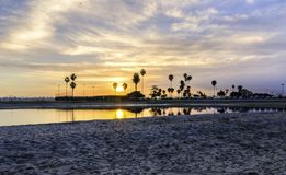 Bahía de la misión, San Diego, California Foto de archivo