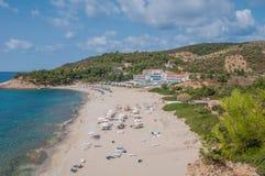 Bahía de la playa Foto de archivo libre de regalías