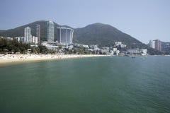 Bahía de la repulsión de Hong-Kong Fotografía de archivo libre de regalías