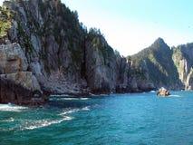 Bahía de la resurrección - Alaska Imágenes de archivo libres de regalías