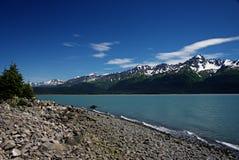 Bahía de la resurrección cerca de Seward Alaska Foto de archivo